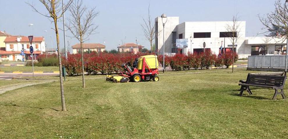 Manutenzione del verde Reggio Emilia, Mantova, Rovigo
